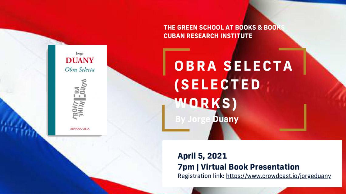 Presentación Obra Selecta Jorge Duany | Aduana Vieja